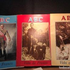 Coleccionismo de Revista Temas Españoles: VE15- VIDA DE FRANCO- 51 -SUPLEMENTOS -A B C- DIRECCION RICARDO DE LA CIERVA). Lote 96391591
