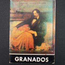Coleccionismo de Revista Temas Españoles: TEMAS ESPAÑOLES Nº 476 1966, ENRIQUE GRANADOS, ANGEL DEL CAMPO, 38 PAGINAS. Lote 97121163