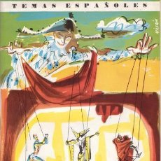 Coleccionismo de Revista Temas Españoles: EGUÍA, CARLOS: TIPOS DEL TEATRO TEMAS ESPAÑOLES Nº 405. Lote 98868471