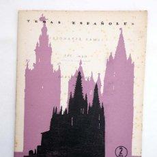 Coleccionismo de Revista Temas Españoles: TEMAS ESPAÑOLES 347. CATEDRALES (BERTA PENSADO) PUBLICACIONES ESPAÑOLAS, 1957. Lote 99960886