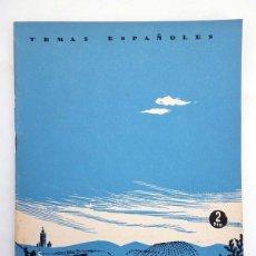 Coleccionismo de Revista Temas Españoles: TEMAS ESPAÑOLES 44. ANDALUCÍA (CARLOS DE ARNEDO) PUBLICACIONES ESPAÑOLAS, 1953. Lote 99961124
