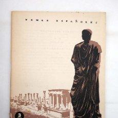 Coleccionismo de Revista Temas Españoles: TEMAS ESPAÑOLES 87. EXTREMADURA (BERTA PENSADO) PUBLICACIONES ESPAÑOLAS, 1959. Lote 99961160