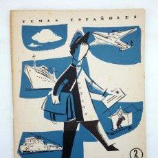 Coleccionismo de Revista Temas Españoles: TEMAS ESPAÑOLES 360. SERVICIOS POSTALES (JOSÉ MARÍA FRANCES ALONSO) PUBLICACIONES ESPAÑOLAS, 1958. Lote 267315364