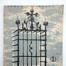 Coleccionismo de Revista Temas Españoles: TEMAS ESPAÑOLES 204. HIERROS Y REJERÍAS (EMILIO FORNET DE ASENSI) PUBLICACIONES ESPAÑOLAS, 1955. Lote 99961432