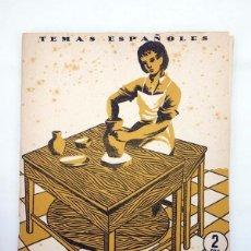 Coleccionismo de Revista Temas Españoles: TEMAS ESPAÑOLES 99. GREMIOS ARTESANOS (JOSÉ GUILLOT CARRATALÁ) PUBLICACIONES ESPAÑOLAS, 1954. Lote 99961472