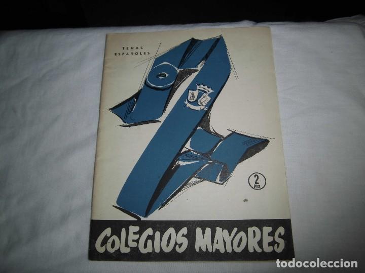 COLEGIOS MAYORES.-CARLOS EGUIA.TEMAS ESPAÑOLES Nº 319.MADRID 1957 (Papel - Revistas y Periódicos Modernos (a partir de 1.940) - Revista Temas Españoles)