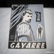 Coleccionismo de Revista Temas Españoles: GAYARRE.-FRANCISCO PERAMOS.TEMAS ESPAÑOLES Nº 256.MADRID 1956. Lote 101231551