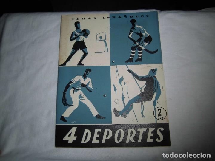 4 DEPORTES.-OCTAVIO DIAZ PINES.TEMAS ESPAÑOLES Nº 104.MADRID 1954 (Papel - Revistas y Periódicos Modernos (a partir de 1.940) - Revista Temas Españoles)