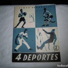 Coleccionismo de Revista Temas Españoles: 4 DEPORTES.-OCTAVIO DIAZ PINES.TEMAS ESPAÑOLES Nº 104.MADRID 1954. Lote 101231895