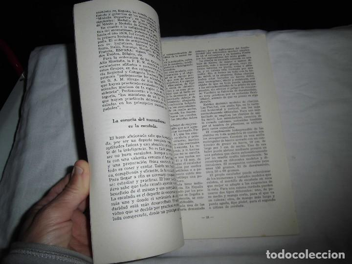 Coleccionismo de Revista Temas Españoles: 4 DEPORTES.-OCTAVIO DIAZ PINES.TEMAS ESPAÑOLES Nº 104.MADRID 1954 - Foto 5 - 101231895