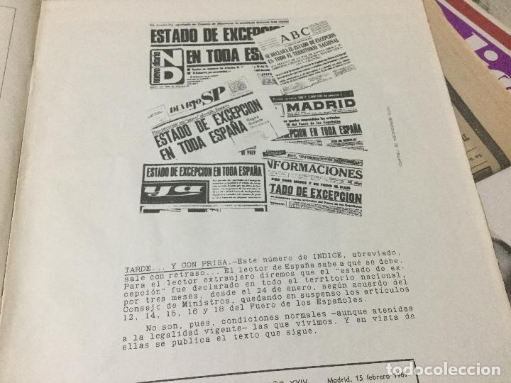 Coleccionismo de Revista Temas Españoles: Revista Indice. La España de Franco. Número 241. Año XXIV. Madrid, febrero 1969. - Foto 2 - 103793239