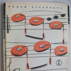 Coleccionismo de Revista Temas Españoles: TEMAS ESPAÑOLES : CANCIONERO PUPULAR CARLISTA . 1957. Lote 105203359