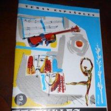 Coleccionismo de Revista Temas Españoles: REVISTA TEMAS ESPAÑOLES Nº 403 FESTIVALES DE ESPAÑA 1961. Lote 105382807