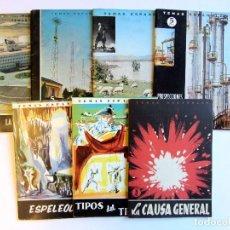 Coleccionismo de Revista Temas Españoles: TEMAS ESPAÑOLES LOTE DE 7 REVISTAS 1959-1961-1963-1964-1965 VER FOTOGRAFÍAS Y DESCRIPCIÓN. Lote 106932043