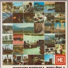 Coleccionismo de Revista Temas Españoles: HIDROELÉCTRICA ESPAÑOLA MEMORIA ACTIVIDADES Y PROYECTOS 1979. Lote 107694255