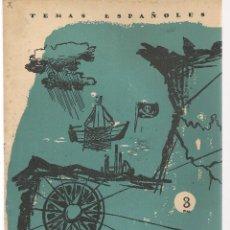 Coleccionismo de Revista Temas Españoles: TEMAS ESPAÑOLES. Nº 298. EL GOLFO DE VIZCAYA. (V1/C1). Lote 107795603