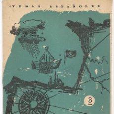 Coleccionismo de Revista Temas Españoles: TEMAS ESPAÑOLES. Nº 298. EL GOLFO DE VIZCAYA. (V1/C1). Lote 107795751