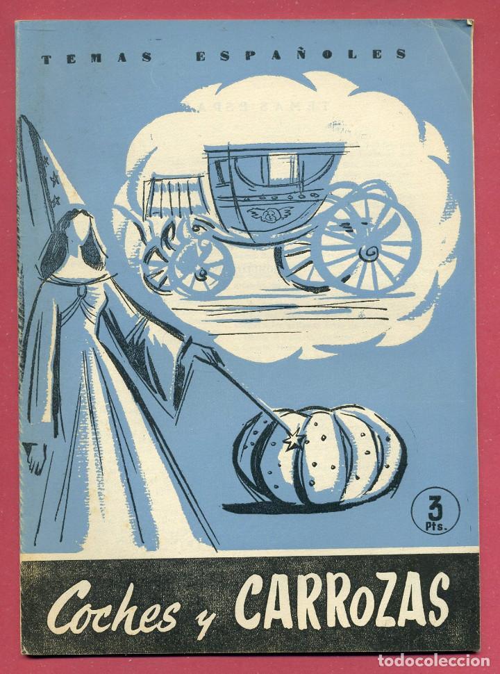 TEMAS ESPAÑOLES - COCHE Y CARROZAS - Nº 392 (Papel - Revistas y Periódicos Modernos (a partir de 1.940) - Revista Temas Españoles)