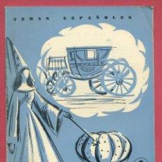 Coleccionismo de Revista Temas Españoles: TEMAS ESPAÑOLES - COCHE Y CARROZAS - Nº 392. Lote 108386819