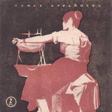 Coleccionismo de Revista Temas Españoles: GUILLOT CARRATALÁ, JOSÉ: LA TAPICERÍA EN ESPAÑA. TEMAS ESPAÑOLES Nº 172. Lote 112314579