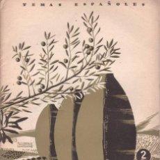 Coleccionismo de Revista Temas Españoles: RODRIGUEZ PANTOJA, MIGUEL: EL ACEITE. TEMAS ESPAÑOLES Nº 80. Lote 112317023