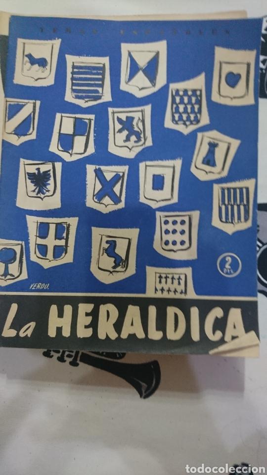 TEMAS ESPAÑOLES NÚMERO 237 LA HERÁLDICA POR PABLO A LAPUENTE BENAVENTE (Papel - Revistas y Periódicos Modernos (a partir de 1.940) - Revista Temas Españoles)