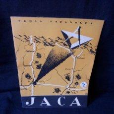 Coleccionismo de Revista Temas Españoles: REVISTA TEMAS ESPAÑOLES - JACA Nº 64 - EDUARDO COMIN COLOMER - AÑO 1956. Lote 114131643