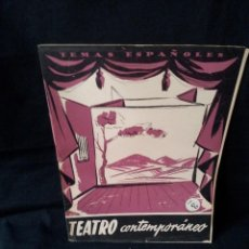 Coleccionismo de Revista Temas Españoles: REVISTA TEMAS ESPAÑOLES - TEATRO CONTEMPORANEO Nº 270 - SANTIAGO MELERO - AÑO 1959. Lote 114131719