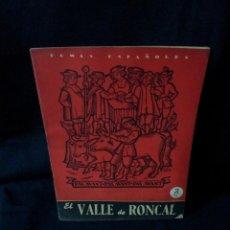 Coleccionismo de Revista Temas Españoles: REVISTA TEMAS ESPAÑOLES - EL VALLE DE RONCAL Nº 212 - RAFAEL - AÑO 1955. Lote 114132027
