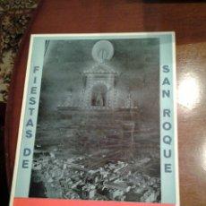 Coleccionismo de Revista Temas Españoles: REVISTA FIESTAS DE SAN ROQUE CALLOSA DE SEGURA AÑO 1979. Lote 114312490