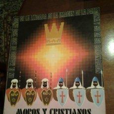 Coleccionismo de Revista Temas Españoles: REVISTA MOROS Y CRISTIANOS DE IBI 1981. Lote 277573113