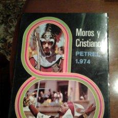 Colecionismo da Revista Temas Españoles: REVISTA MOROS Y CRISTIANOS PETREL AÑO 1974. Lote 114313372