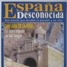 Coleccionismo de Revista Temas Españoles: REVISTA ESPAÑA DESCONOCIDA (Nº 16-NOVIEMBRE 1996). SAN JUAN DE LA PEÑA. CASTILLO BELMONTE.. Lote 115505391