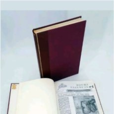 Coleccionismo de Revista Temas Españoles: REVISTA ROURE DEL 1 AL 96 ENCUADERNADAS EN DOS TOMOS 1981 - 1983. Lote 117500606