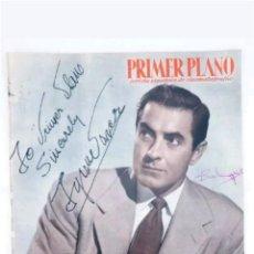 Coleccionismo de Revista Temas Españoles: REVISTA ESPAÑOLA DE CINEMATOGRAFIA PRIMER PLANO N°945 TYRONE POWER 1958. Lote 118037604