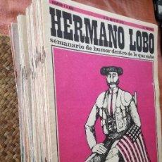 Coleccionismo de Revista Temas Españoles: COLECCION REVISTA HERMANO LOBO. DESDE Nº1 AL 93.. Lote 118157579