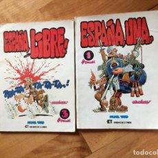 Coleccionismo de Revista Temas Españoles: ESPAÑA LIBRE EDICIONES DE LA TORRE Nº 1 Y 3 AÑO 1982. Lote 118781059