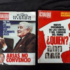 Coleccionismo de Revista Temas Españoles: LA ACTUALIDAD ESPAÑOLA. NÚM. 1246, 1270, 1292, 1358. AÑOS 70.. Lote 120309118
