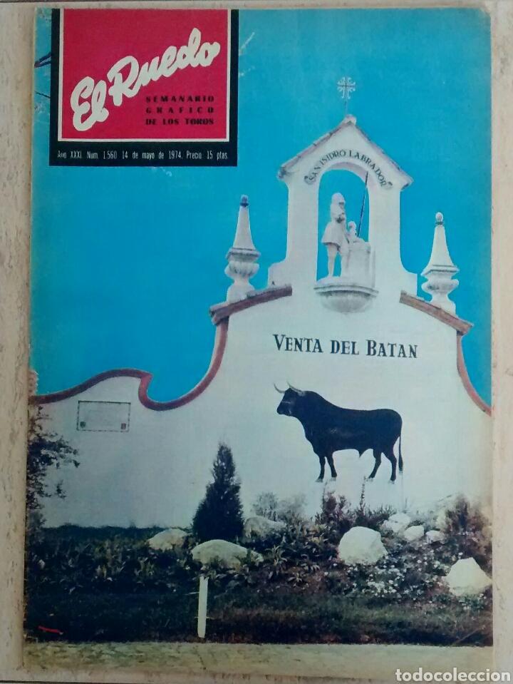 EL RUEDO. .NUM. 1560. VENTA DE BATAN . AÑO 1970 (Papel - Revistas y Periódicos Modernos (a partir de 1.940) - Revista Temas Españoles)