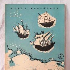 Coleccionismo de Revista Temas Españoles: REVISTA TEMAS ESPAÑOLES 1957 - Nº 310 - VIAJES MENORES - BIEN CONSERVADA. Lote 122072355