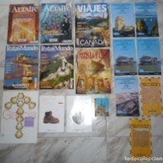 Coleccionismo de Revista Temas Españoles: LOTE DE REVISTAS DIVERSAS DE VIAJES Y DESTINACIONES. Lote 56213769