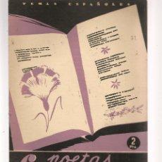 Coleccionismo de Revista Temas Españoles: TEMAS ESPAÑOLES. Nº 31. 6 POETAS CONTEMPORÁNEOS. PUBLICACIONES ESPAÑOLAS 1956. (ST/B101). Lote 125415835