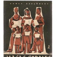 Coleccionismo de Revista Temas Españoles: TEMAS ESPAÑOLES. Nº 247. MASAS CORALES. PUBLICACIONES ESPAÑOLAS 1956. (ST/B101). Lote 125717487