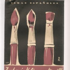 Coleccionismo de Revista Temas Españoles: TEMAS ESPAÑOLES. Nº 278. ZURBARÁN, VELÁZQUEZ Y MURILLO. PUBLICACIONES ESPAÑOLAS 1956. (ST/B101). Lote 125724019