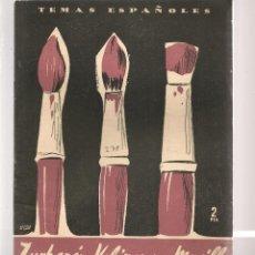 Coleccionismo de Revista Temas Españoles: TEMAS ESPAÑOLES. Nº 278. ZURBARÁN, VELÁZQUEZ Y MURILLO. PUBLICACIONES ESPAÑOLAS 1956. (ST/B101). Lote 125724155