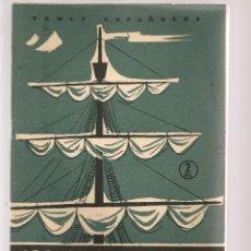 Coleccionismo de Revista Temas Españoles: TEMAS ESPAÑOLES. Nº 281. BLAS DE LEZO. PUBLICACIONES ESPAÑOLAS 1956. (ST/B101). Lote 125725755