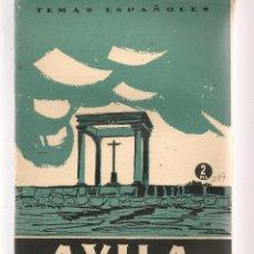 Coleccionismo de Revista Temas Españoles: TEMAS ESPAÑOLES. Nº 287. ÁVILA. P. ESPAÑOLAS 1956. (ST/B101). Lote 125730619