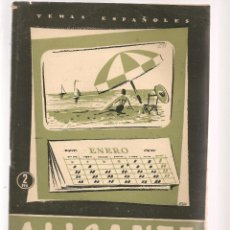 Coleccionismo de Revista Temas Españoles: TEMAS ESPAÑOLES. Nº 291. ALICANTE. P. ESPAÑOLAS 1957. (ST/B101). Lote 125732259