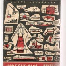 Coleccionismo de Revista Temas Españoles: TEMAS ESPAÑOLES. Nº 294. SIDERÚRGICA DE AVILÉS. P. ESPAÑOLAS 1957. (ST/B101). Lote 125733111