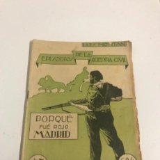 Coleccionismo de Revista Temas Españoles: GUERRA CIVIL, EPISODIOS, REVISTA. Lote 125810039